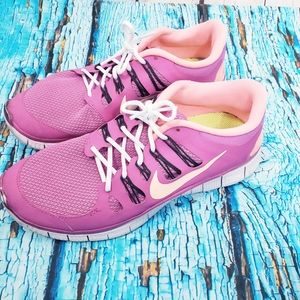 Nike Free 5.0 Running Shoes Size 10 Womens Active